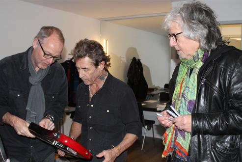 Wolfgang H. Weinrich mit Peter Maffay